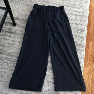 H&M Ink  Blue Pull on Pants